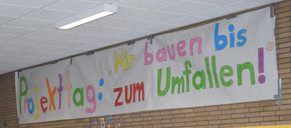 Projekttag in lengericher Grundschule
